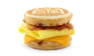 bacon egg and cheese mcgriddle from mcdonald's