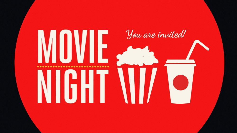 Movie night logo from amazon