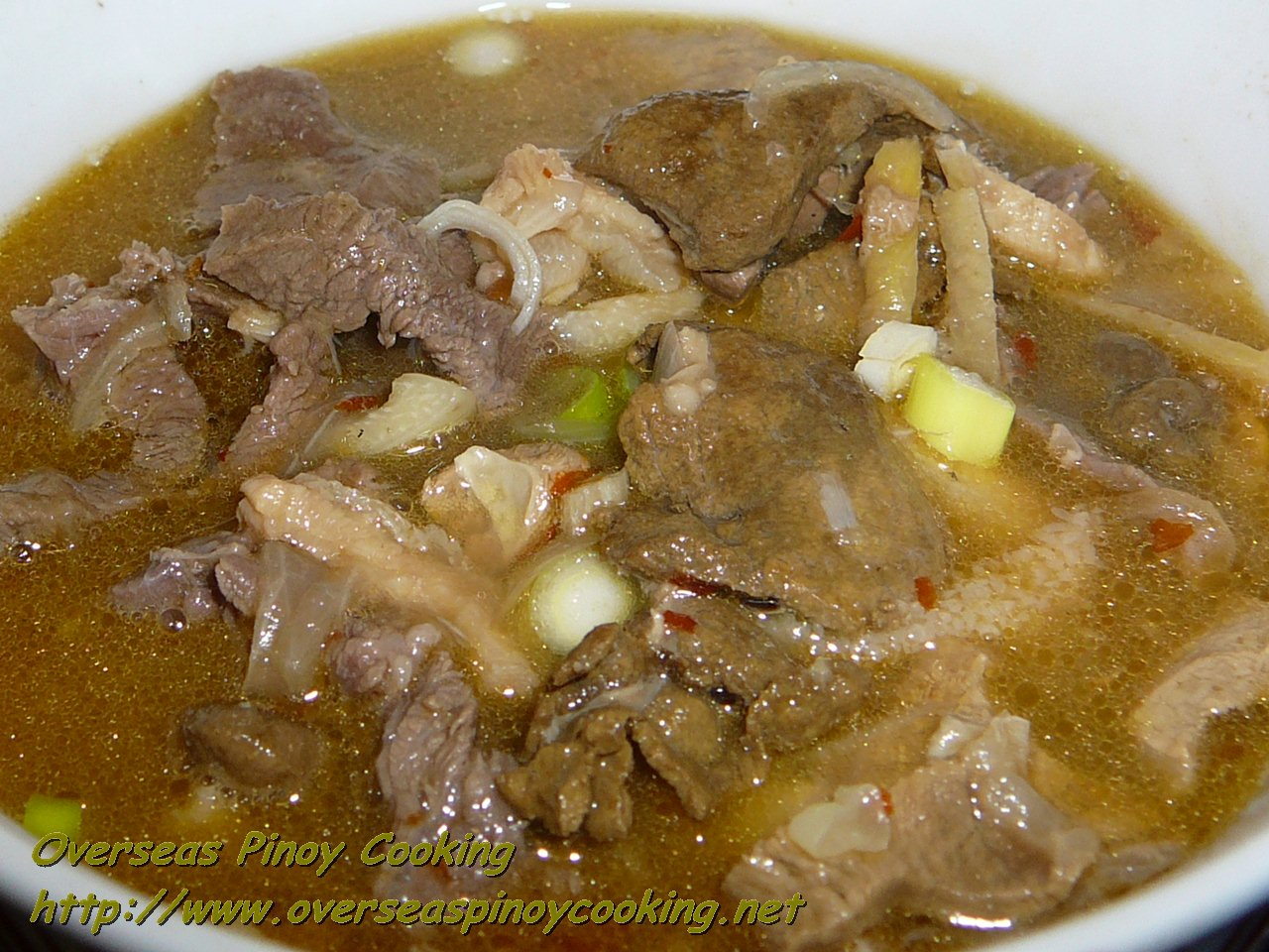Papaitan: An Exotic Filipino Dish