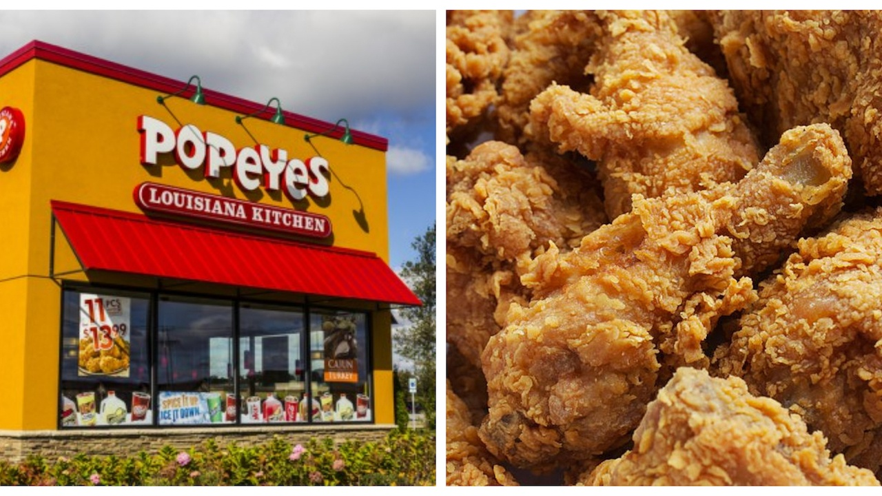 popeyes store and chicken