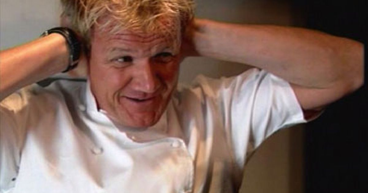 ramsay frustrated