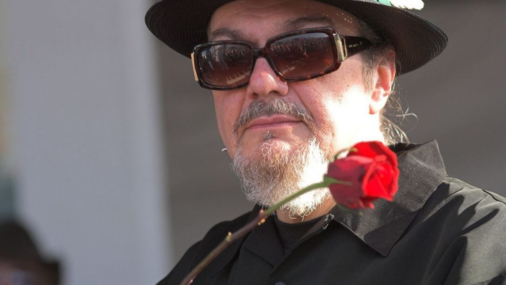Dr. John with a rose