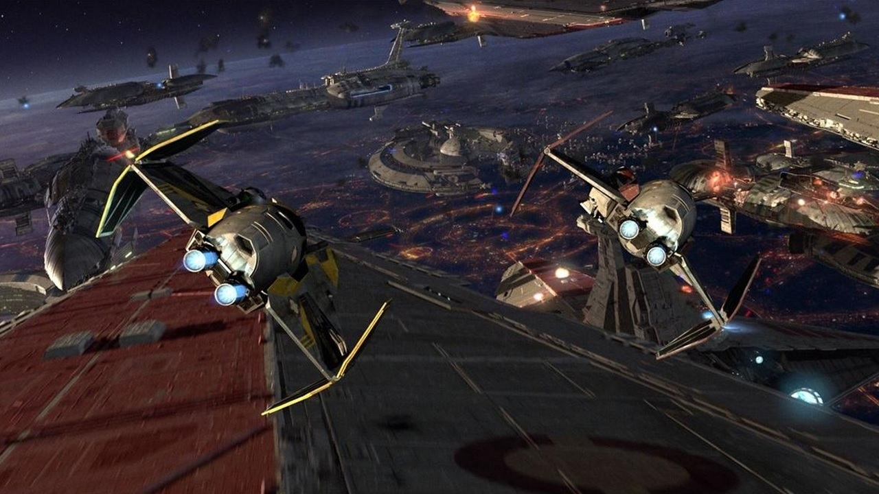 star wars space battles