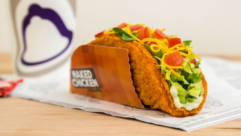 the naked chicken chalupa from taco bell