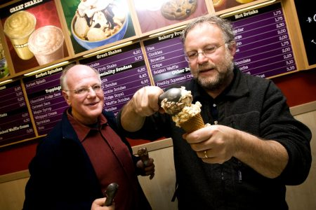 A recent picture of the dynamic Ben & Jerry's duo