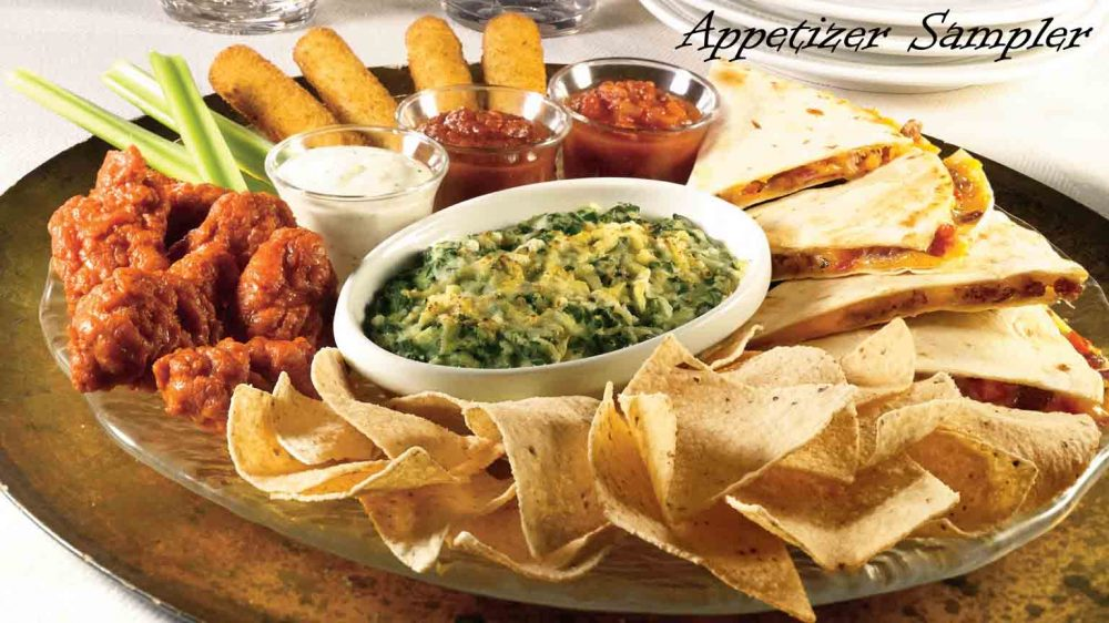 Applebee's Appetizer Sampler