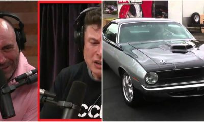 Barracuda is one of Rogan's favorite cars.
