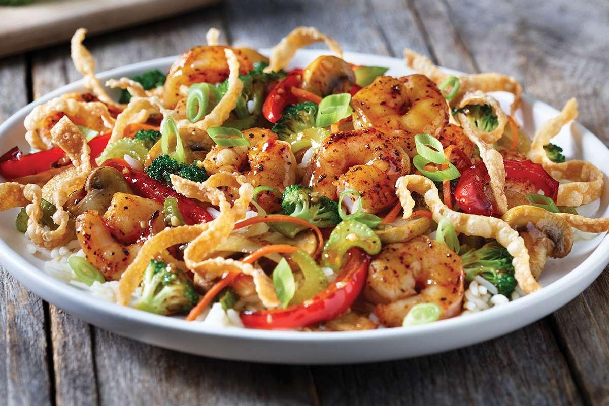 Applebee's classic shrimps