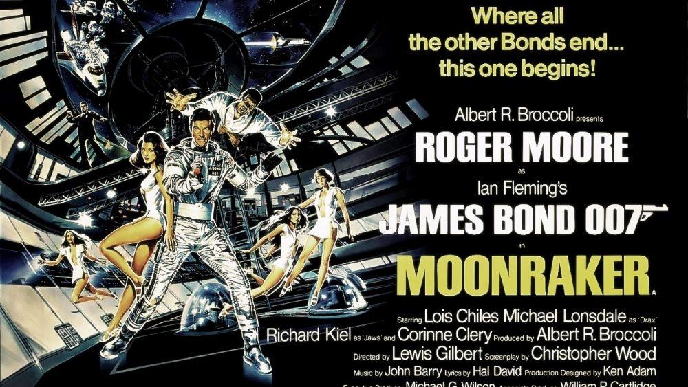 bond movies moonraker