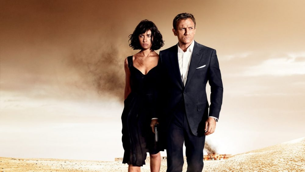 bond movies quantum of solace