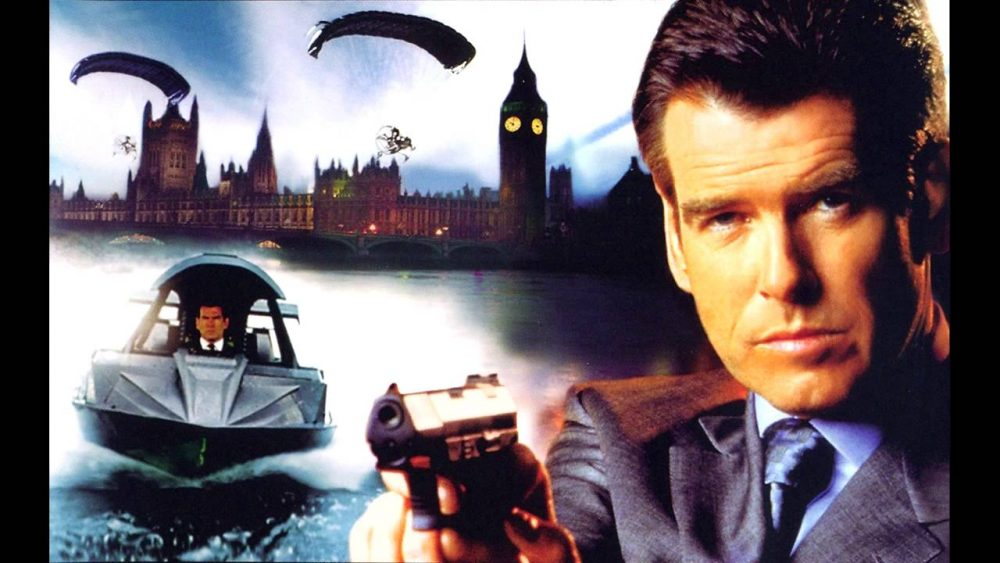 bond movies the world is not enough