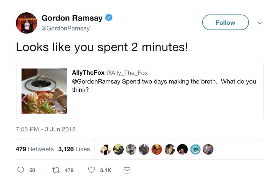 Gordon Ramsay insults a broth