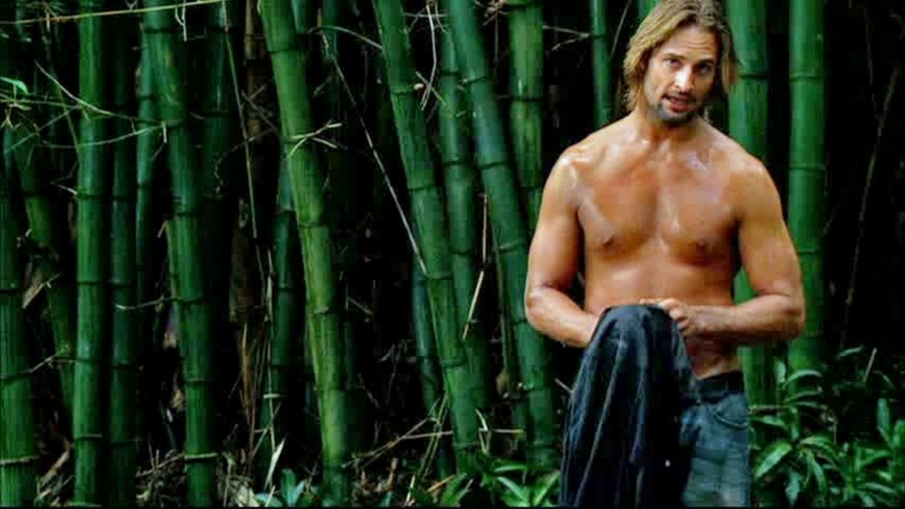 lost sawyer shirtless