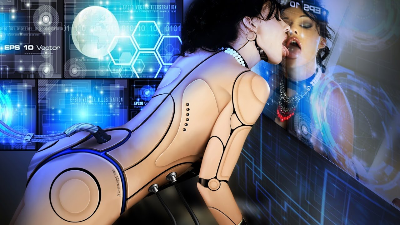 Robots and humans are destined to make out?