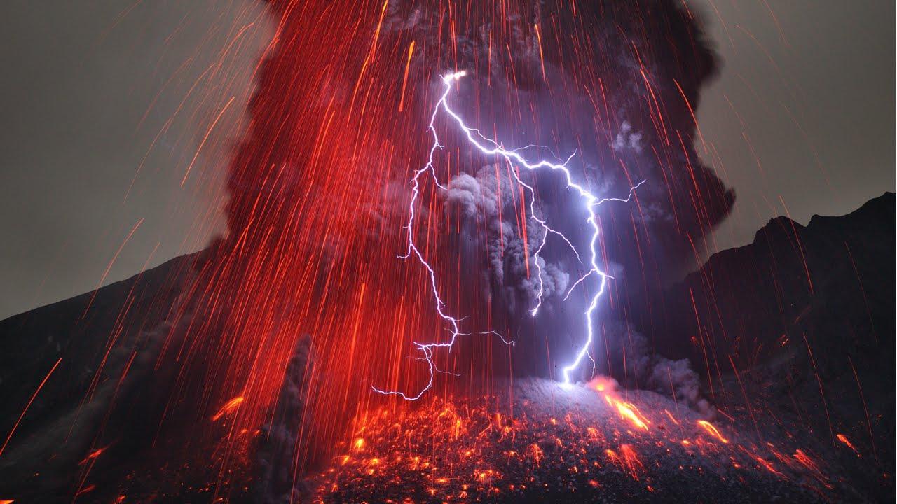 Volcanic Thunderstorm
