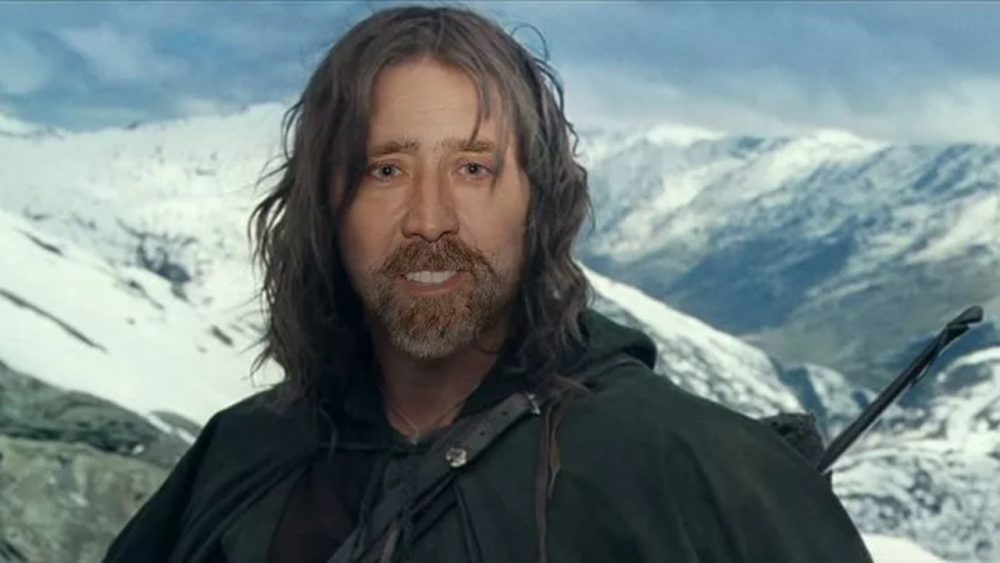 nic cage roles aragorn