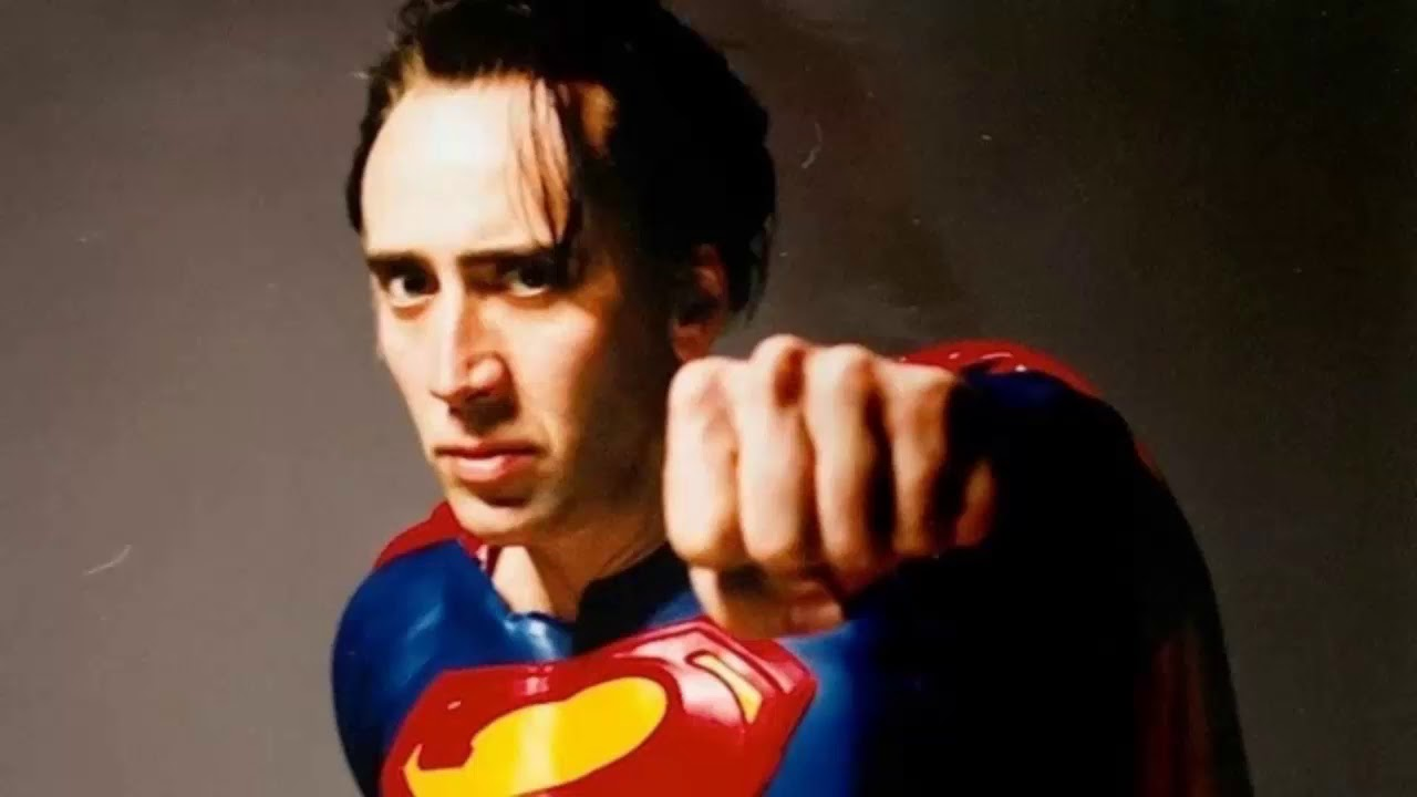 nic cage roles superman