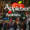Facade of NYC Applebee's: the Big Apple