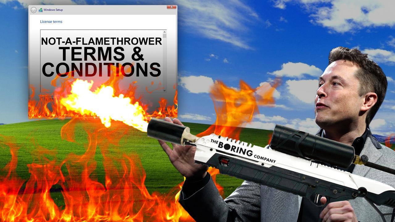 Not a Flamethrower