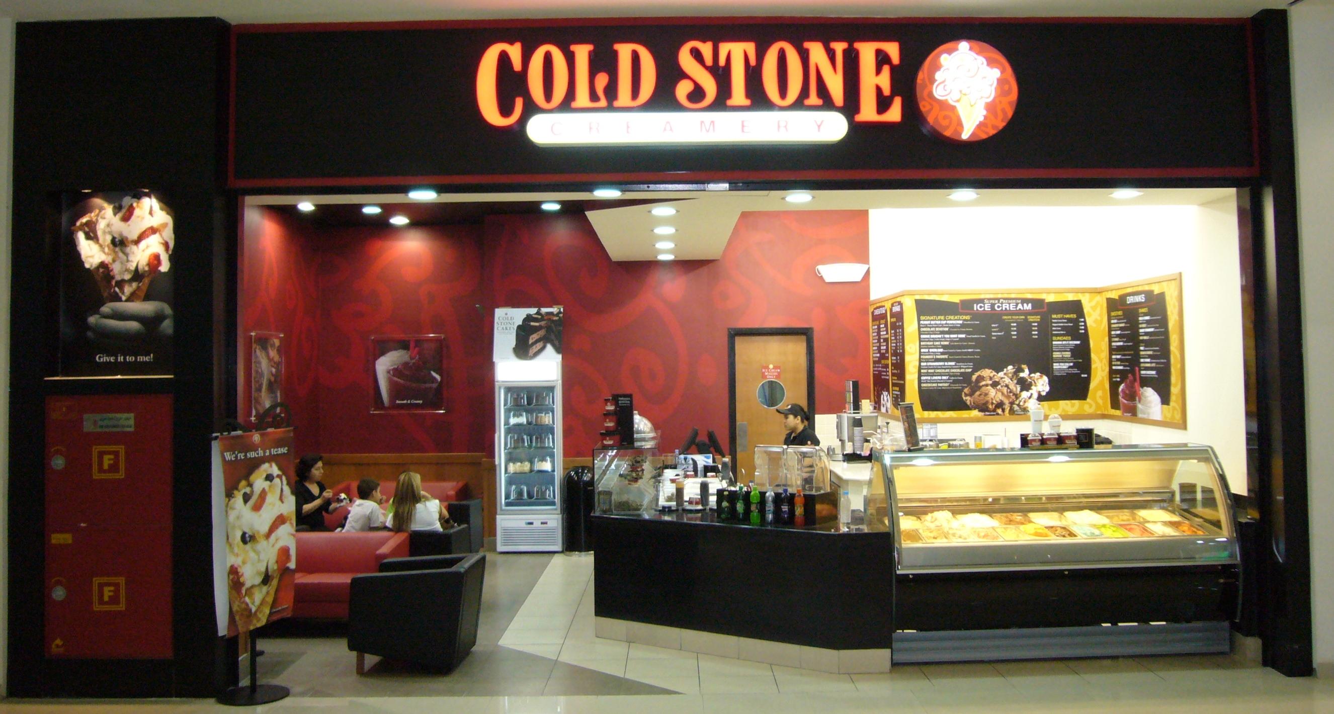 8 cold stone