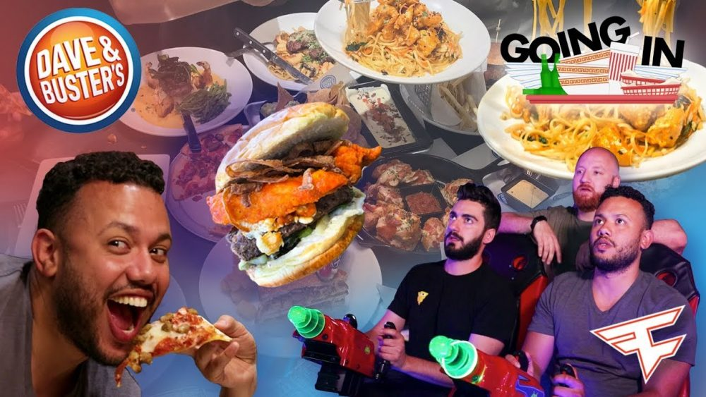 Faze Cheo wanna eats all at Dave & Buster's
