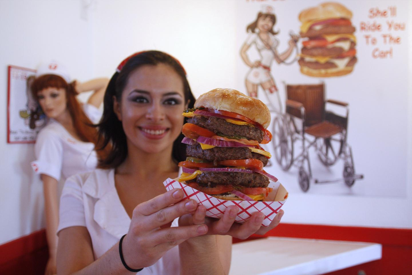 Heart Attack Grill 20000 Calorie Burger