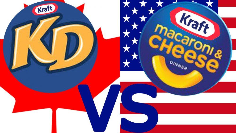 Kraft dinner popular iin canada