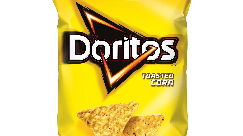 Toasted Corn Doritos Cropped