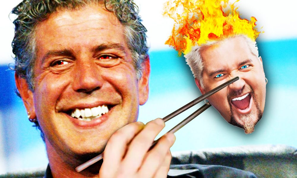 10 Times Anthony Bourdain Insulted Celebrities!