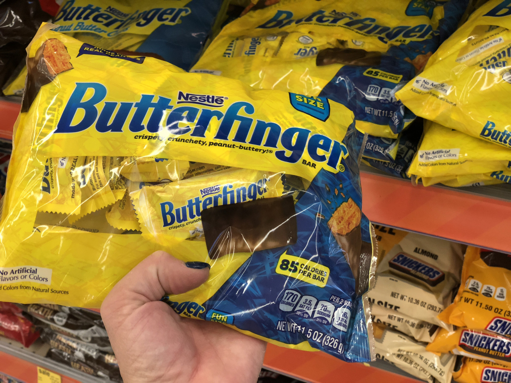 butterfinger snack size