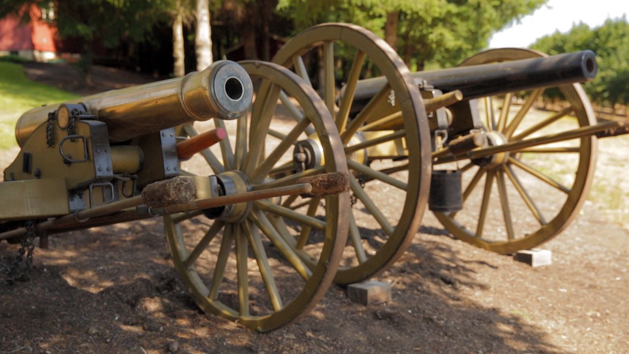 The firepower of cannons revolutionized warfare.