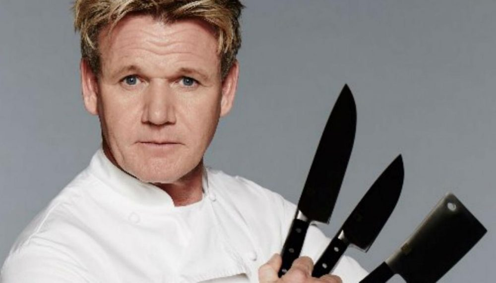 Chef Ramsay knives