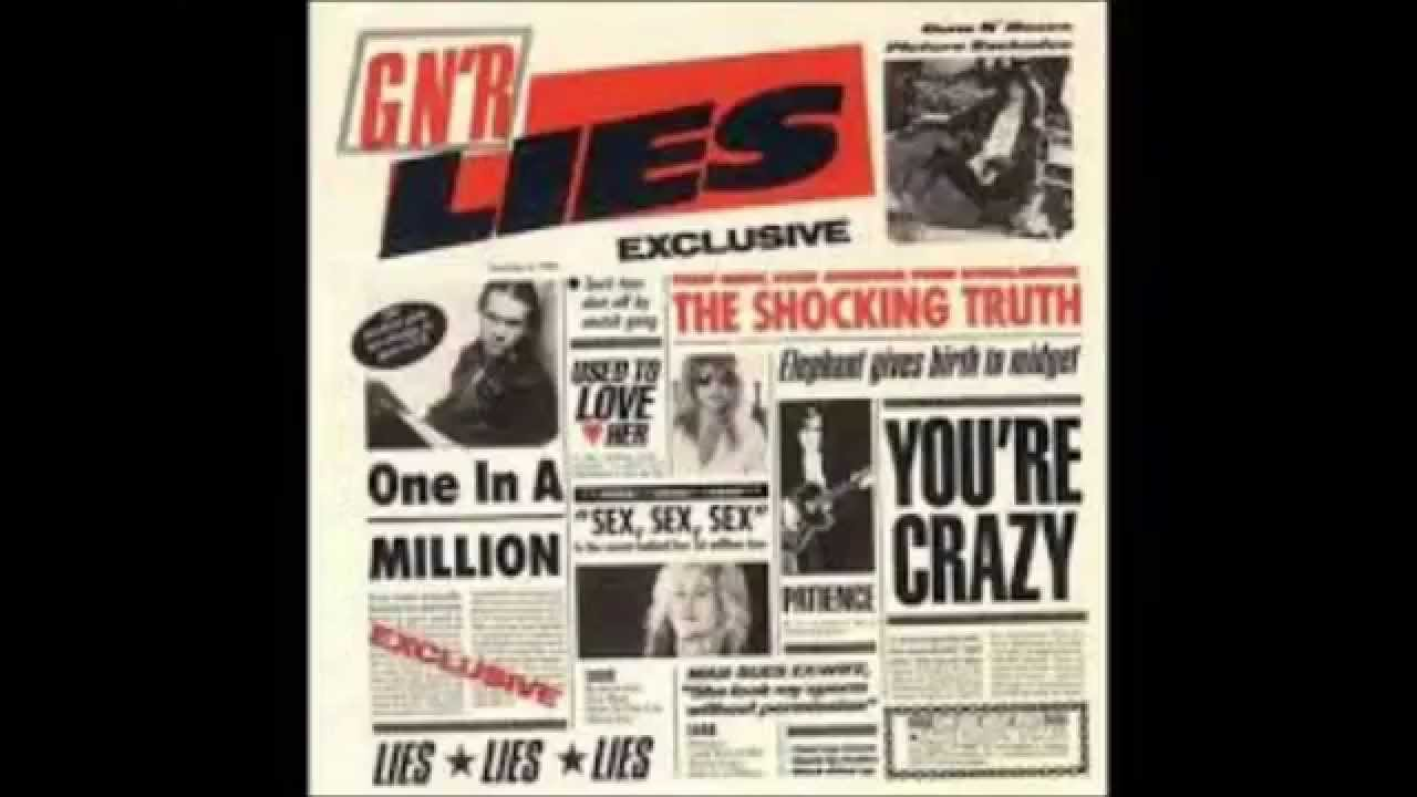guns n roses albums gnr lies