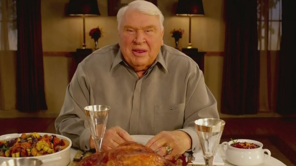 john madden thanksgiving