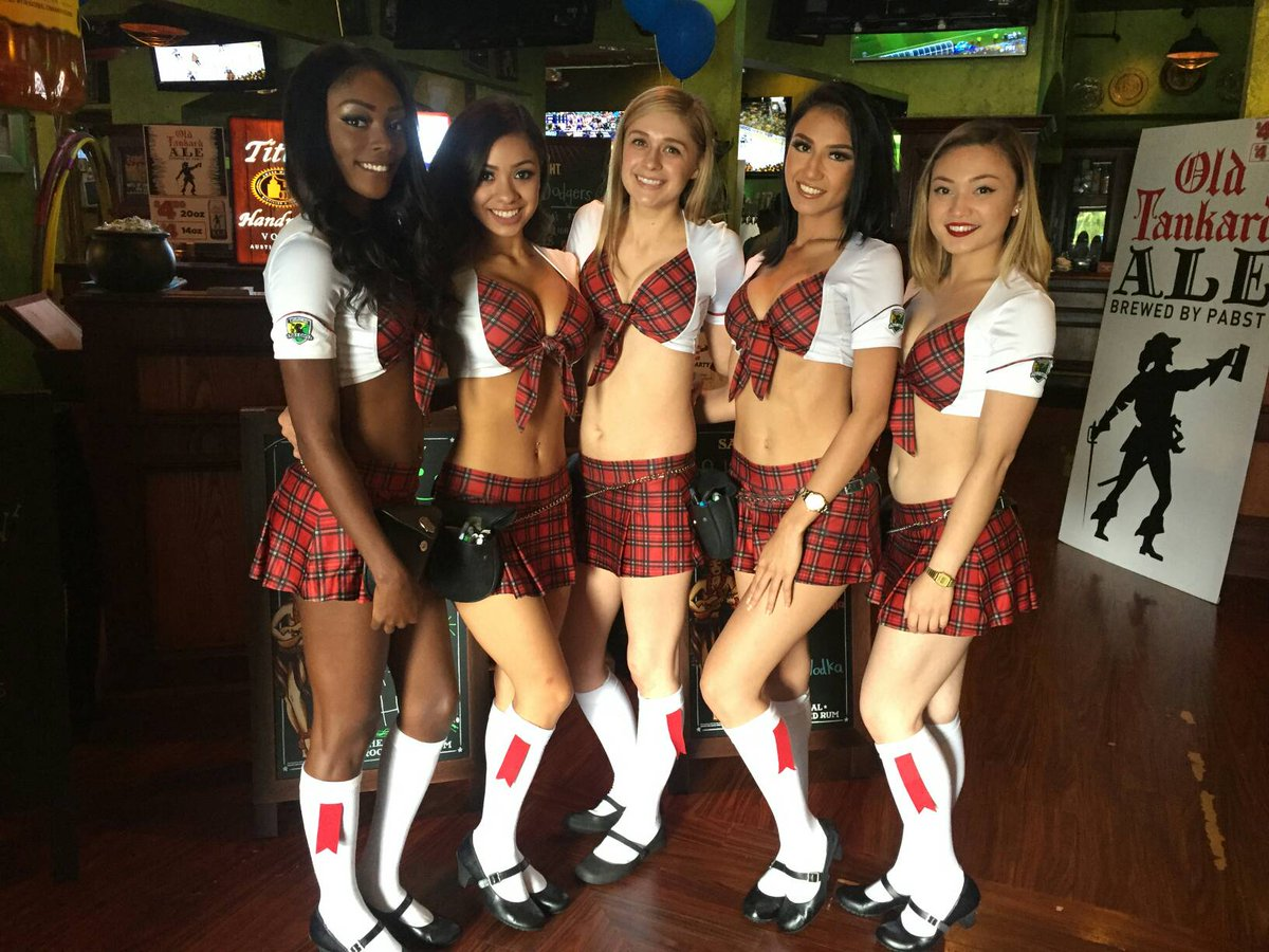 More Tilted Kilt Girls