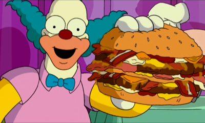 movie burgers the simpsons movie