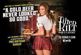 Tilted Kilt Poster Girl