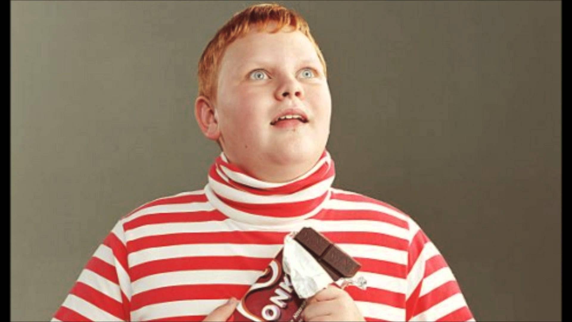 characters food augustus gloop chocolate