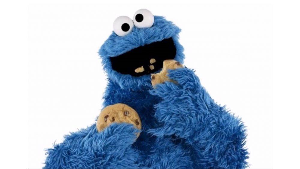 characters food cookie monster cookies