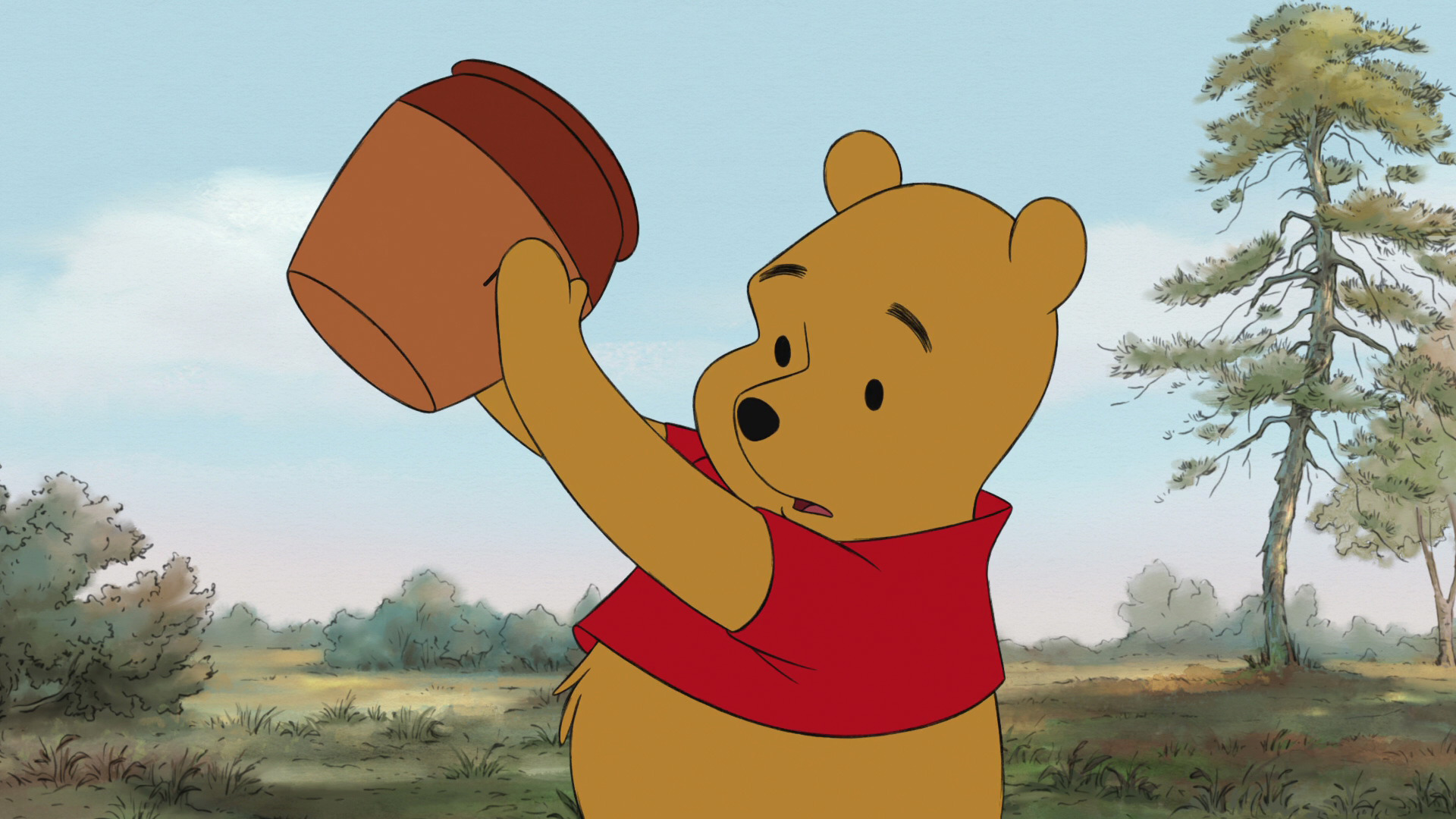 characters food winnie the pooh honey