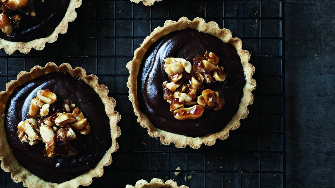 chocolate tarts Cropped