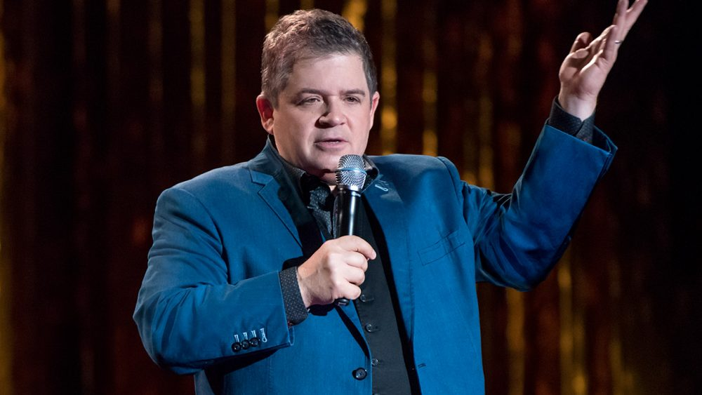 comedy food bits patton oswalt