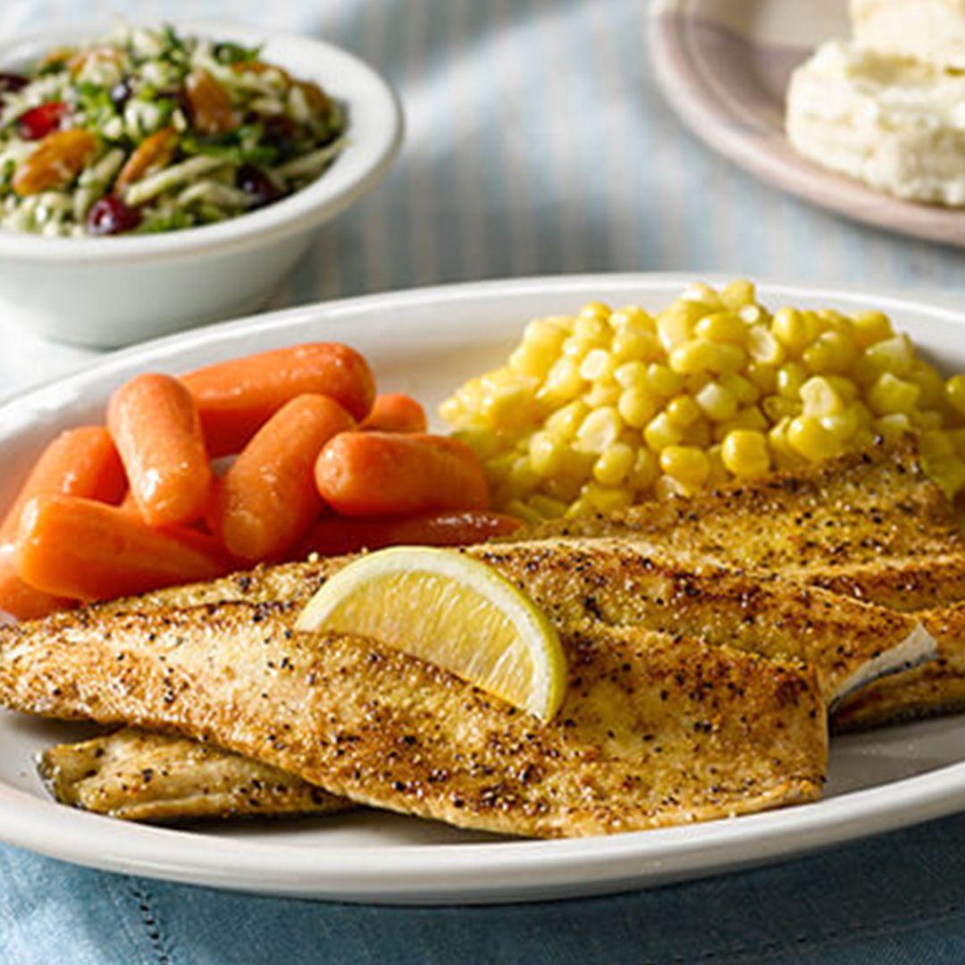 cracker barrel trout meal