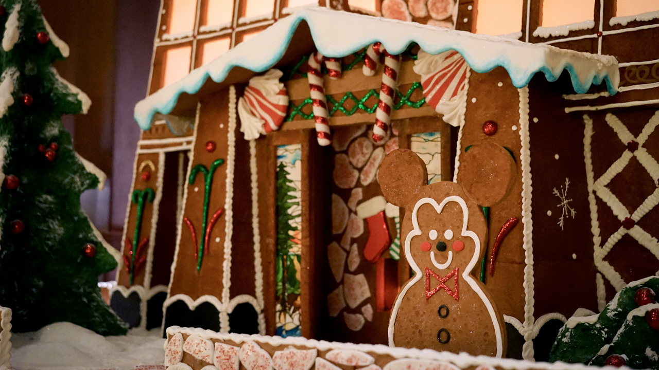Gingerbread houses are a classic Christmas tradition.