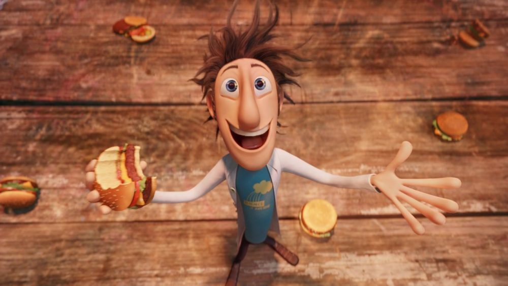movies for foodies cloudy with a chance of meatballs