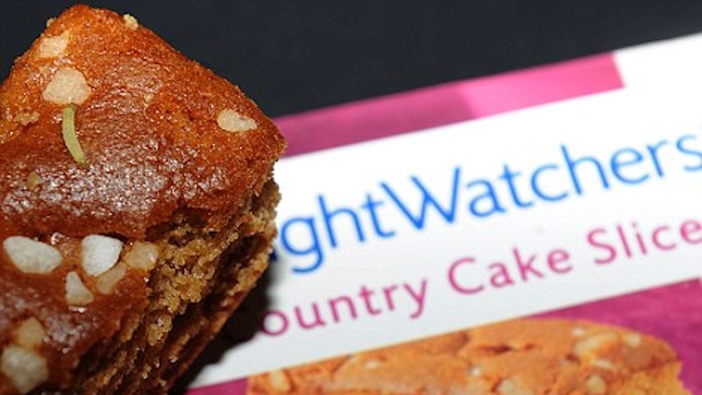 weight watchers cake and caterpillar Cropped