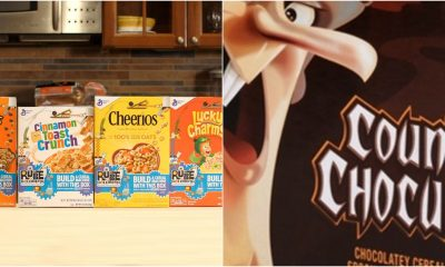 These cereals are popular with kids and adults.