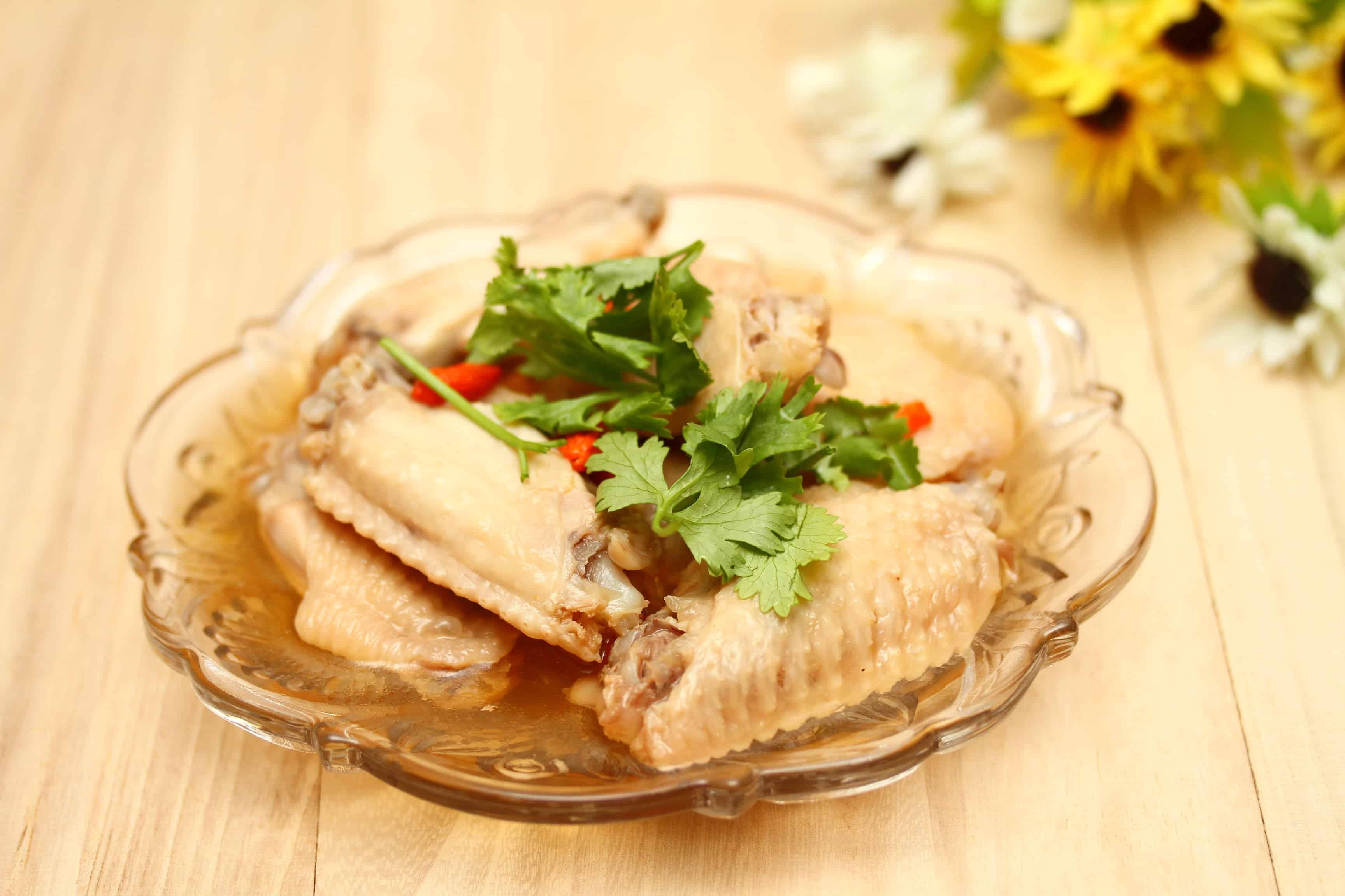 Drunken chicken from Taiwan