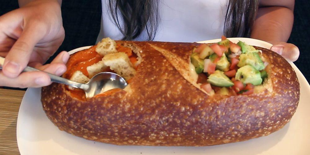 Panera Bread Double Bread Bowl