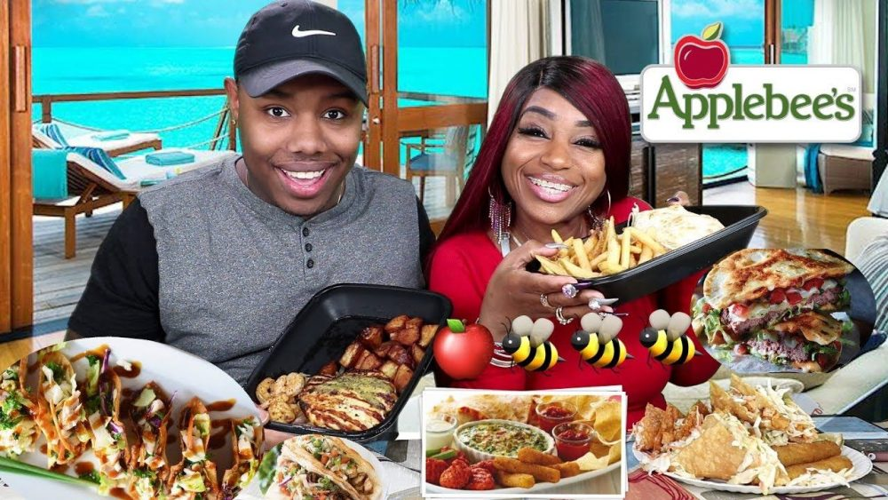 applebee's mukbang video
